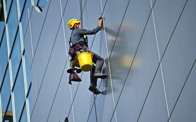 Lone worker risk assessment checklist skyscraper windowcleaner